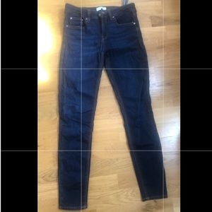 Zara - 6 - Dark Denim Skinny Jeans